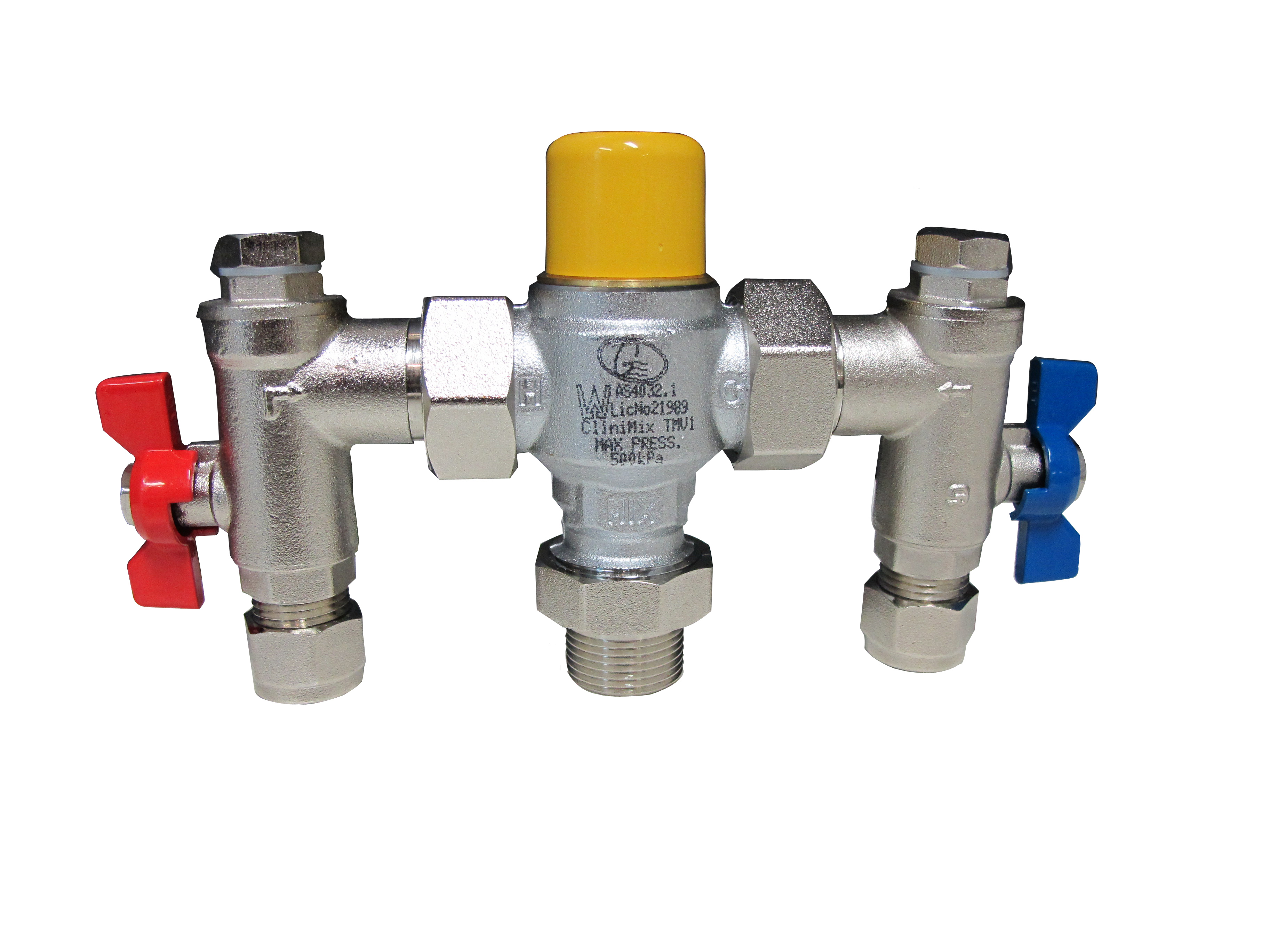 tmv questions How thermostatic mixer valves work what is a thermostatic mixing valve a thermostatic mixing valve is a device that mix or blends hot water (usually stored at temperatures high enough to kill bacteria) with cold water to ensure constant, safe outlet temperatures preventing scalding.